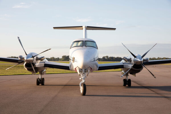Popular destinations and sample fares from BTR Air Charter on the King Air BE-200