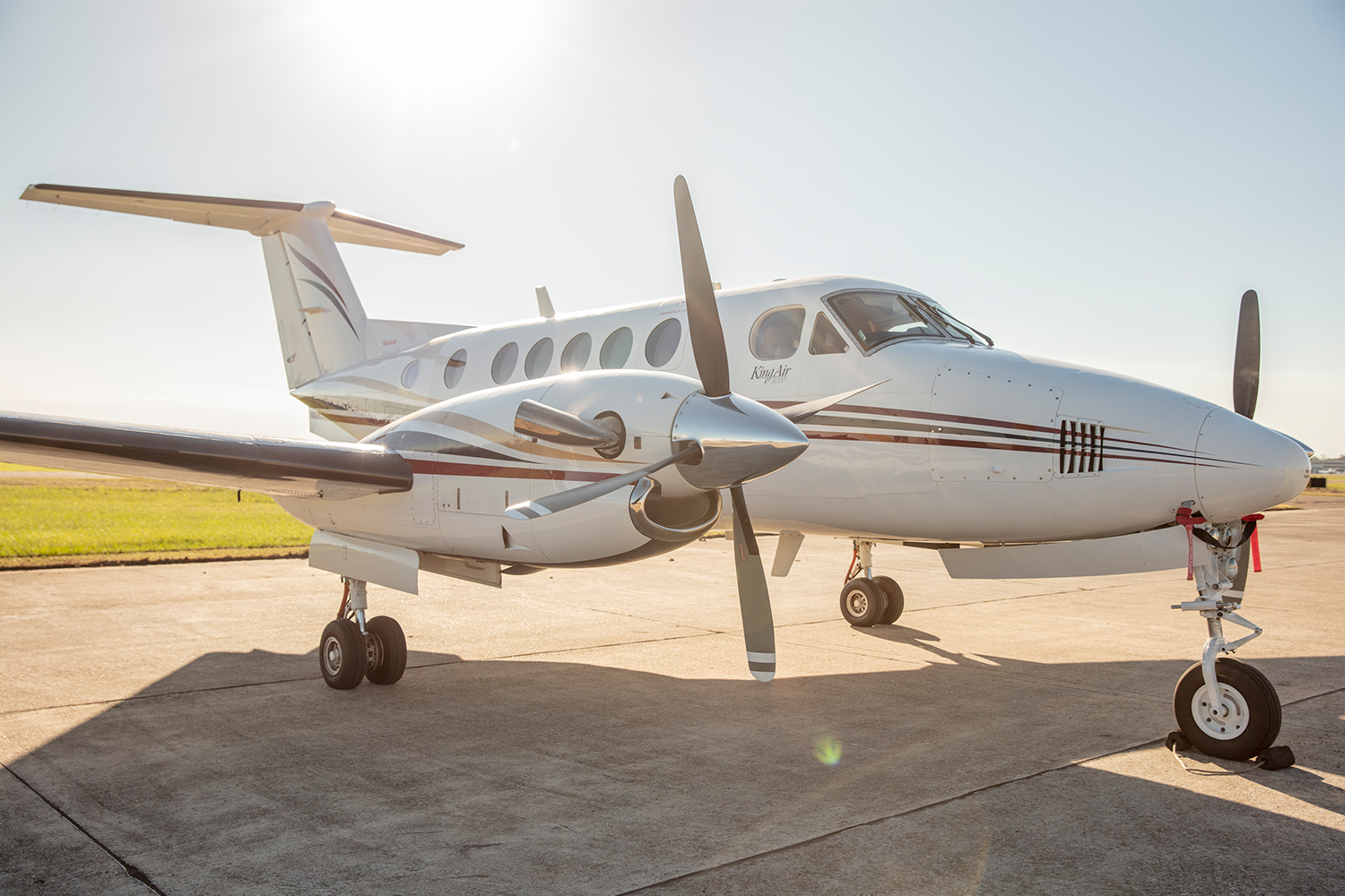 BTR Air Charter - King Air BE200 - Exterior Turbo Prop Charter Flights from Baton Rouge